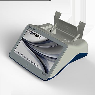 Den Audiometer Tremetrics RA800 entwickelte Constin für die Maico Diagnostics GmbH.