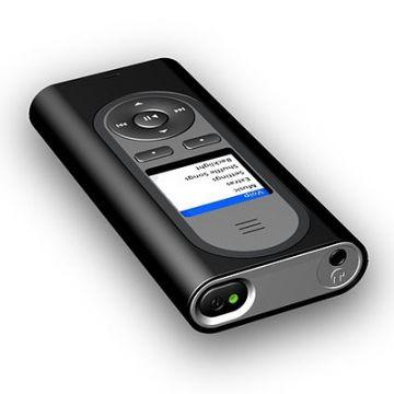 FRITZ!Mini, VoIP-Telefon, Produktdesign, Engineering, Vakuumguss bei Constin, gezeigt wird ein Rendering des schwarzen schlichten Telefons (Perspektive) aus SolidWorks