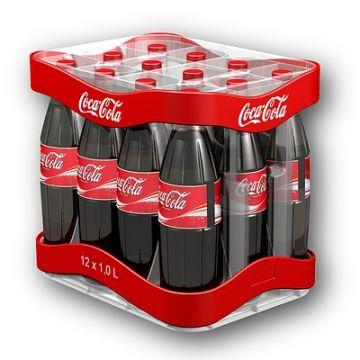 Getränkekasten, Produktdesign und Prototyping - CNC-Fraesteile von Constin, hier ein fotorealistisches Rendering aus SolidWorks des Getränkekastens aus Kunststoff im bekannten Rot, große Bild