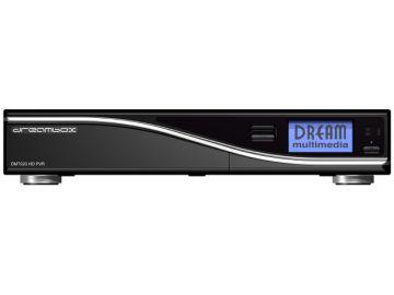 DM7020 HD, Produktdesign, Konstruktion, Prototyping - 3D-Druck, von Constin, hier ein fotorealistisches Rendering aus SolidWorks des Designgehäuses: schwarze Box mit silberner Welle, frontal