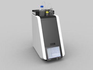 CytoPatch2, Produktdesign, Konstruktion, Rapid Prototyping, Vakuumsguss von Constin, gezeigt wird ein Rendering des Geräts aus Solid Works