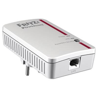 FRITZ!Powerline 1000E, eine Steckdose wird zum Netzwerkanschluss