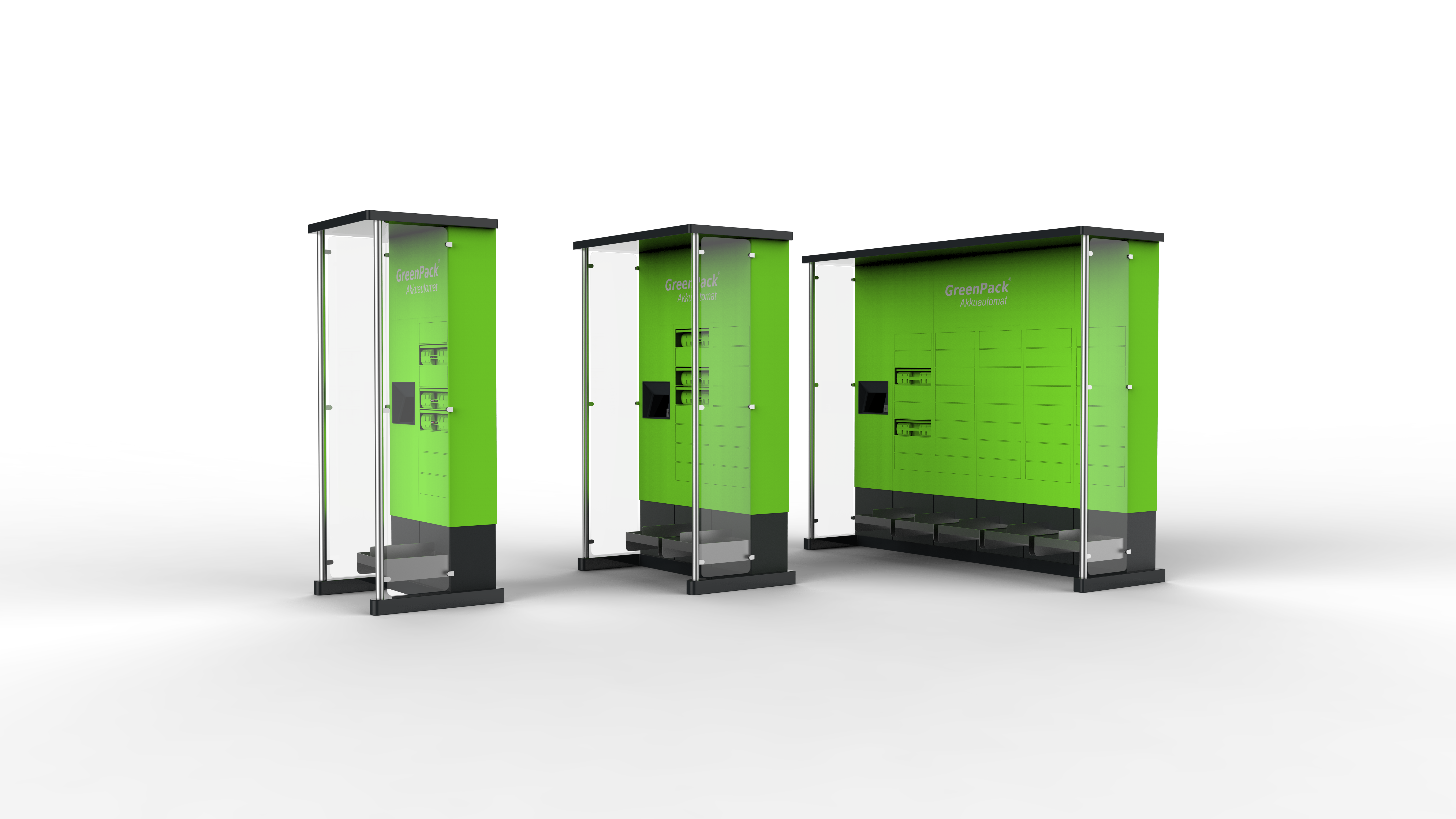 Der GreenPack Akkuautomat