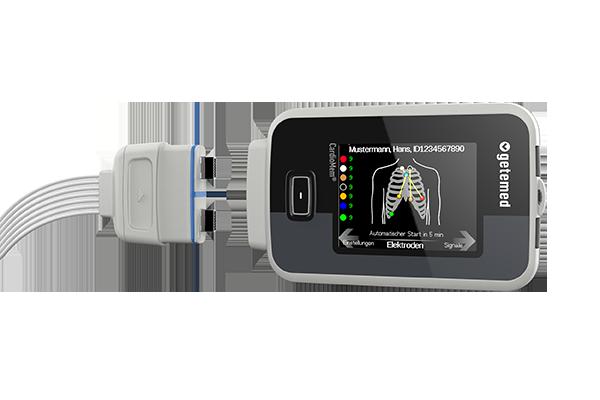 Für die Getemed AG entwickelte Constin den rekorder CardioMem CM 4000