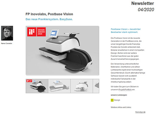 Newsletterbild FP Inovolabs Postbase Vision