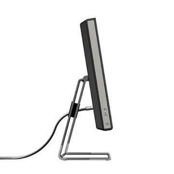 """24""""-Monitor: Produktdesign-Studie, diverse Designvarianten, fotorealistisches Rendering aus SolidWorks, Seitensicht"""