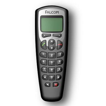 BT-Telefon, Produktdesign, Konstruktion, Prototyping - CNC-Fraesteile, Vakuumguss - Produktionsbetreuung von Constin, hier ein fotorealistisches Rendering aus SolidWorks des Kunststoffgehäuses des Telefons mit großem Display, großes Bild