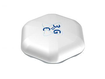 GPS-Antenne für GeoIT, ein sechseckiges weißes Designgehäuse von Constin