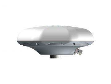GPS-Antenne für GeoIT, ein sechseckiges weißes Designgehäuse von Constin.