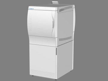 Cliniclave 45, Produktdesign by Constin, Produktdesign-Studie ausgearbeitet in SolidWorks, das Rendering zeigt das Designgehäuse des Autoclaven - weiß ohne Display
