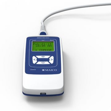 EroScan, Messgerät für Innenohr, Draufsicht