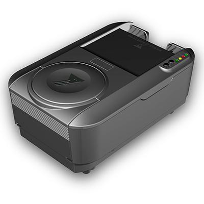 Visualisierungsgerät VG 100 international: Produktdesign, Konstruktion, Prototypenbau, CNC-Fräsen, von Constin, hier ein Rendering des Designgehäuses aus SolidWorks Perspektive ohne Monitor