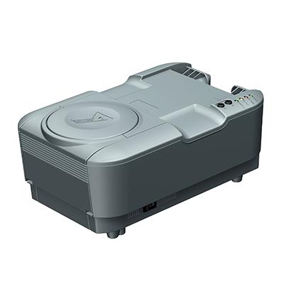 Visualisierungsgerät VG 100: Produktdesign, Konstruktion, Prototypenbau, CNC-Fräsen, Kleinserienproduktion: Vakuumguss von Constin, hier ein Rendering des Designgehäuses aus SolidWorks ohne Monitor und ohne Pass