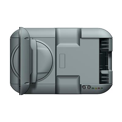 Visualisierungsgerät VG 100: Produktdesign, Konstruktion, Prototypenbau, CNC-Fräsen, Kleinserienproduktion: Vakuumguss von Constin, hier ein Rendering des Designgehäuses aus SolidWorks mit Monitor von oben