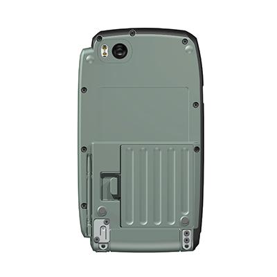 VM100, Produktdesign & Konstruktion & Prototyping: 3D-Druck + Vakuumguss v. Constin, Das Rendering aus SolidWorks zeigt das military-grüne Kunststoffgehäuse von unten